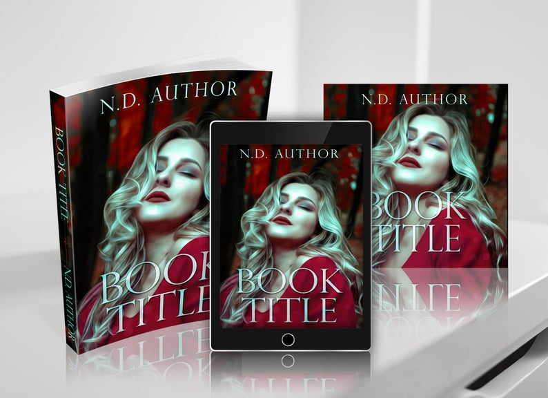 Paperback Cover, Ebook Cover, and Audiobook Cover